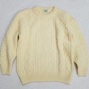 Like new Blarney Woollen Mills Aran Sweater S